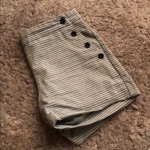 NBW Banana Republic Pinstriped Shorts
